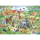 Keeping Busy - Extra Large Puzzle