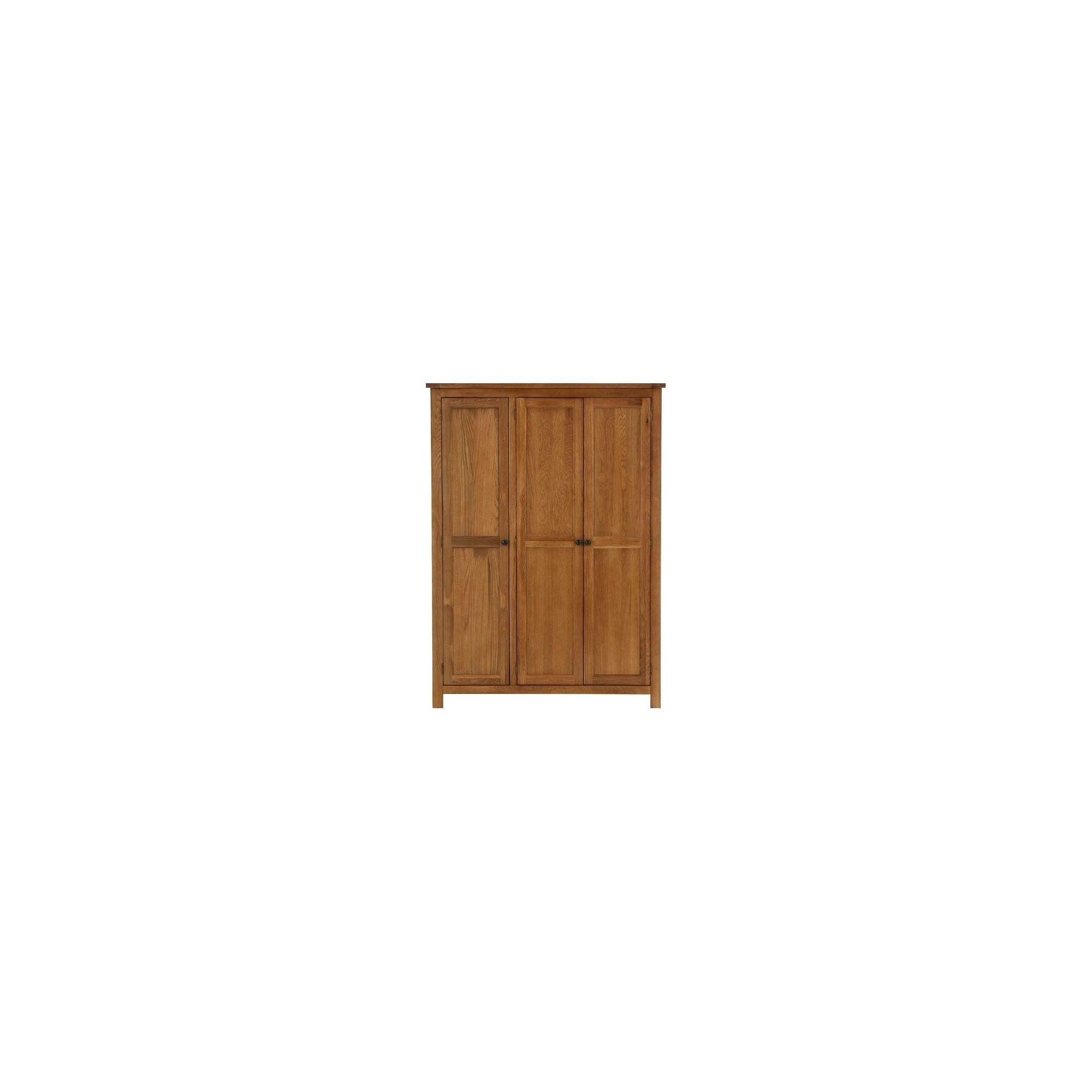 Thorndon Eden Three Door Wardrobe in Warm Oak at Tesco Direct