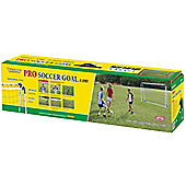 8 Foot Steel Professional A Frame Football Goal Posts Kids Goals