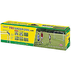 8 Foot Steel Professional A Frame Football Goal Posts Kids Goals