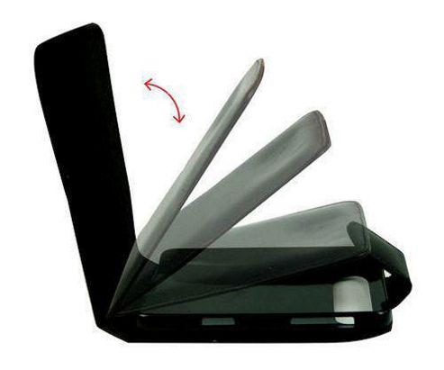 U-bop Accessories 3222 Neo-Orbit Leather Case for Sony Ericsson W995, W995i - Black