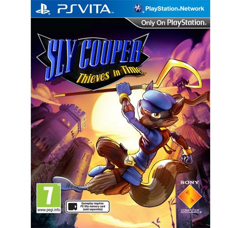 Sly Cooper -Thieves In Time (PSVita)