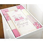 Silver Cloud Country Kisses Changing Mat (Pink)