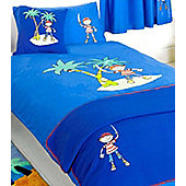 Pirate Island 4 Piece Bed Set