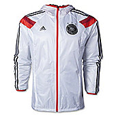 2014-15 Germany Adidas Anthem Jacket (White) - White