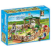 Playmobil 6635 City Life Children's Petting Zoo Playset with 11 Animals
