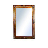 Large Gold Antique Shabby Chic Ornate Wall Mirror 5Ft10 X 3Ft10, 178Cm X 117Cm