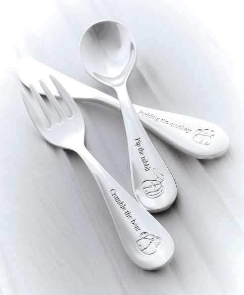 Mamas & Papas - Once Upon a Time - Silver Cutlery Set