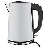 Tesco JKSSW16 White Stainless Steel Kettle