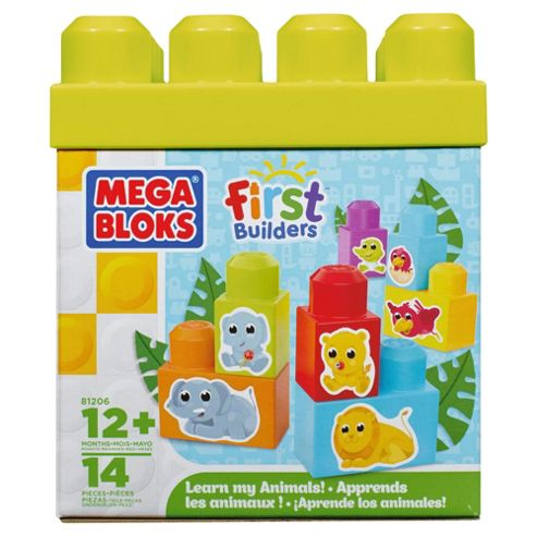 MEGABLOKS First Builders Learn Animals