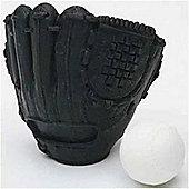 TY Iwako Puzzle Eraserz - Baseball Glove - Black