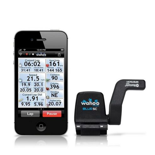 Wahoo Bike Sensor for iPhone, iPod & iPad, Blue