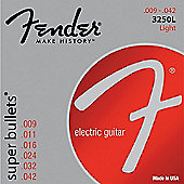 Fender 3250L Bullet End Guitar Strings 9-42