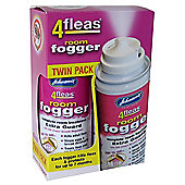 Johnsons 4fleas Room Fogger Twin Pack with IGR