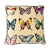 McAlister Velvet Butterfly Cushion