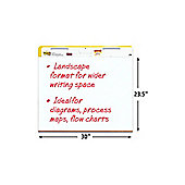 3M Post-it Landscape Easel Meeting Chart White Pack of 2 559LS