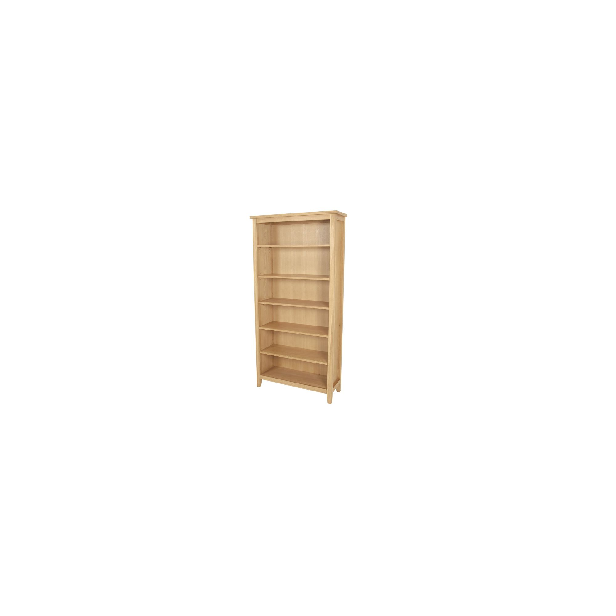 Elements Selby Oak High Bookcase at Tesco Direct