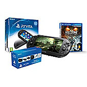 PS VITA SLIM (KILLZONE AND PLAYSTATION VITA STARTER KIT )