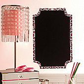 Pink Leopard Chalkboard Wall Stickers