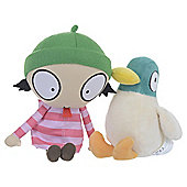 Sarah And Duck Large Sarah Soft Toy