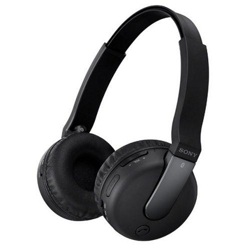 Sony DR-BTN200 Overhead Bluetooth Headphones for Smartphones - Black