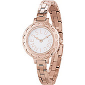 Lulu Guinness Irresistible Ladies Rose Gold Ion-plated Watch LG20004B03X