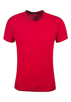 Mountain Warehouse District Mens Technical T-Shirt - Red