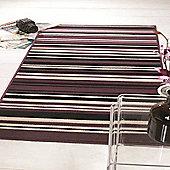 Element Canterbury Purple/Black 120x160 cm Rug
