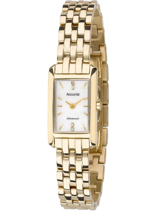 Accurist Ladies Diamond Bracelet Watch LB1592P