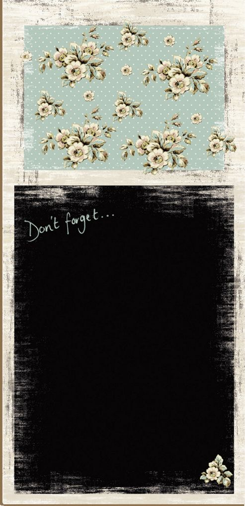 Creative Tops Katie Alice Cottage Flower Memo Board