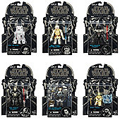 "Star Wars The Black Series 3.75"" Figures (Set of 6 No.s 1-6)"