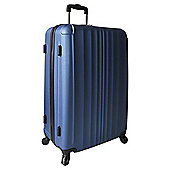 Tesco Hard Shell 4-Wheel Suitcase, Blue Large