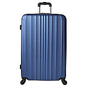 Tesco Hard Shell Large Suitcase Blue