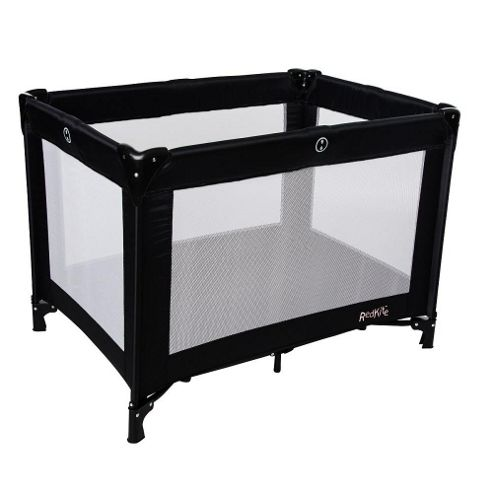 Red Kite Travel Cot Black