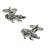 Aligator Novelty Themed Cufflinks