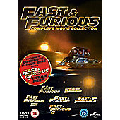 Fast & Furious 1-6 (Bonus disc) DVD