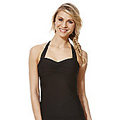 F&F Magic Tankini Top - Black
