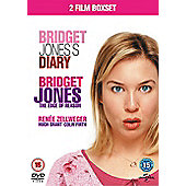 Bridget Jones's Diary & Bridget Jones The Edge Of Reason (DVD Boxset)