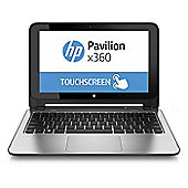 "HP x360, 11.6"" Convertible Touchscreen Laptop, Intel Celeron, 4GB RAM, 500GB - Silver"