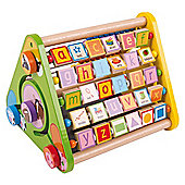 Bigjigs Toys Triangular Activity Centre
