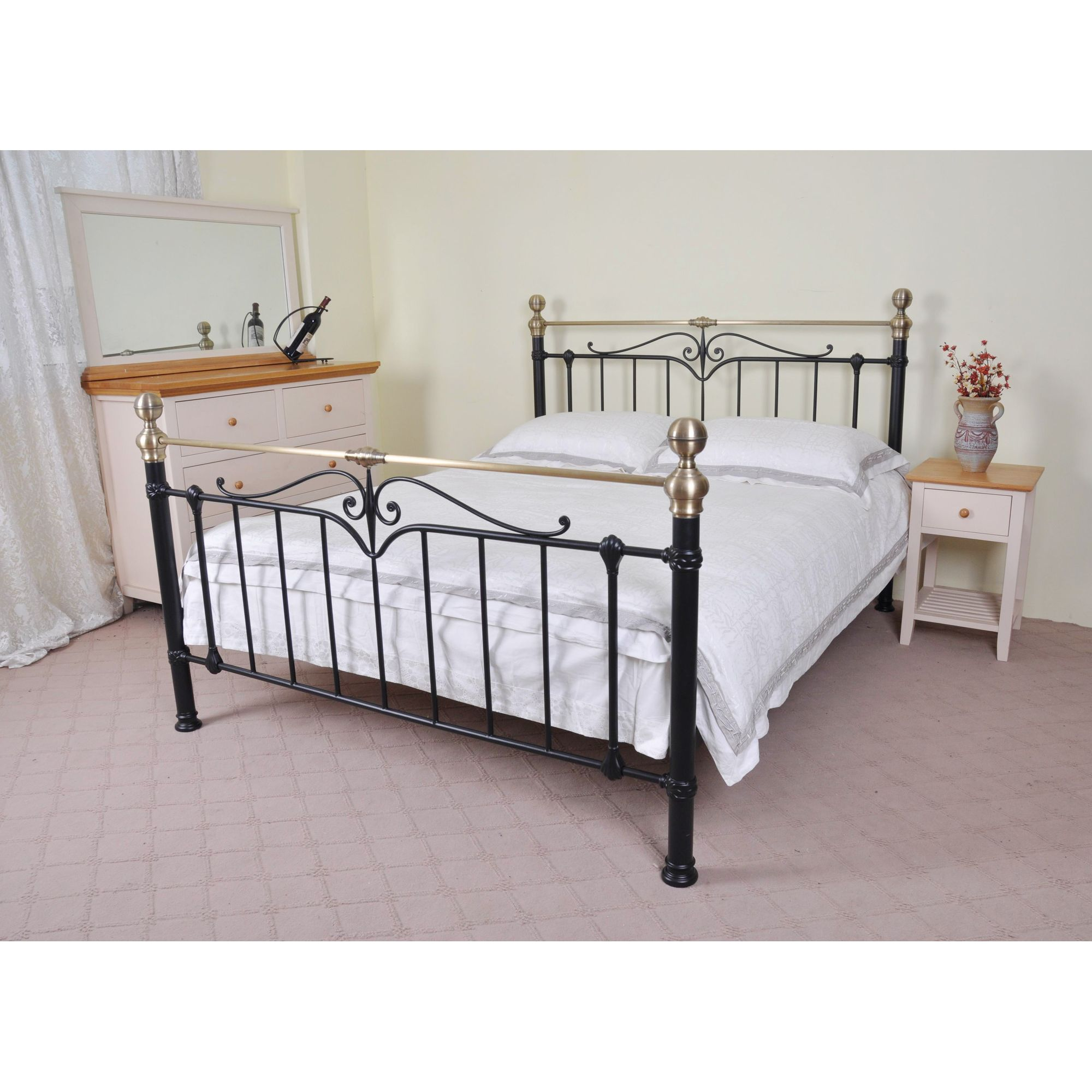 Limelight Sigma Bed Frame - King - Black at Tesco Direct