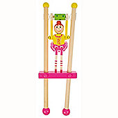 Bigjigs Toys BJ962 Ballerina Trapeze (One Supplied - Colours Vary)