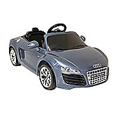 Kids Electric Car Audi R8 12 Volt Blue Gloss