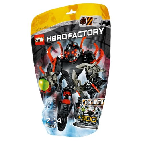 LEGO Hero Factory CORE HUNTER 6222