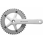 SR Suntour CW10-SCSP42-SP Single Chainset: 42T x 170mm White