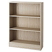 Tvilum 71776 Oak Low Bookcase