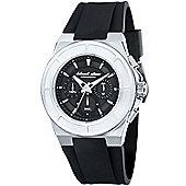 Black Dice Gents Rubber Strap Chronograph Watch BD06801