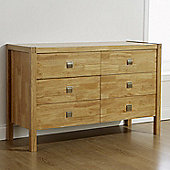Elements Vienna Valencia 6 Drawer Wide Chest