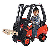 Smoby Ride-on Forklift Truck, Red