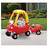 Little Tikes Cozy Coupe Ride-On Car & Trailer